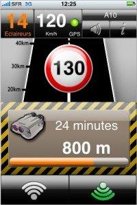 Détection de radars avec l'iPhone : l'application icoyote gratuite !