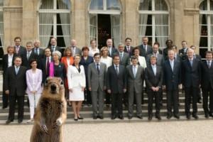 écureuil au gouvernement