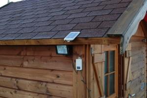installation du panneau solaire