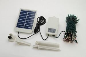J'ai testé pour vous : la guirlande autonome solaire 100 leds !